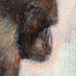 Die Frau des Silberrücken – 18 x 24 cm